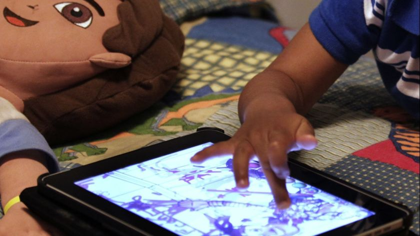 The increased screen time encouraged by our digital age